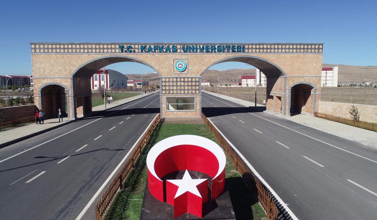 kafkas üniversitesi giriş
